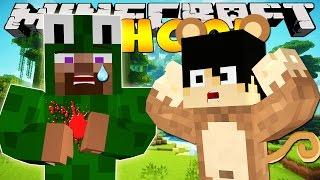 Minecraft School - LITTLE LIZARD GETS SHOT!!