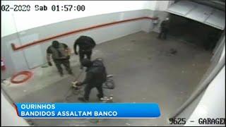 Bandidos assaltam banco em Ourinhos