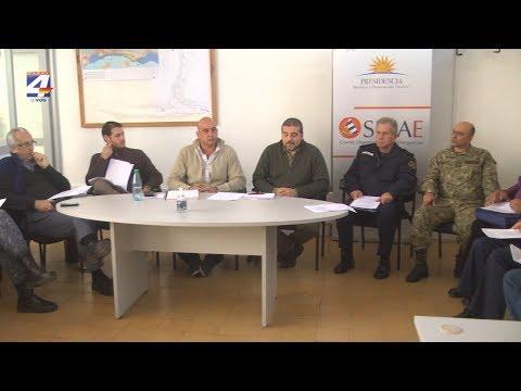Sinae y Cecoed de Paysandú realizaron una reunión de evaluación del trabajo cumplido en las crecientes