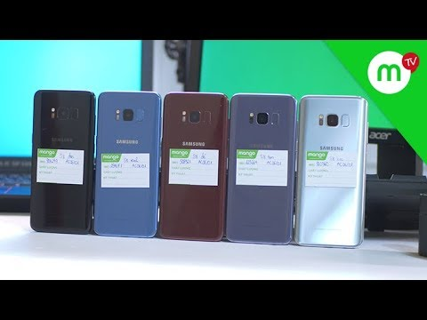 ĐẨY ĐỦ 5 màu Samsung S8 Likenew tại Việt Nam, màu ĐỎ VANG cực ĐỘC!!! - Thời lượng: 8 phút, 20 giây.