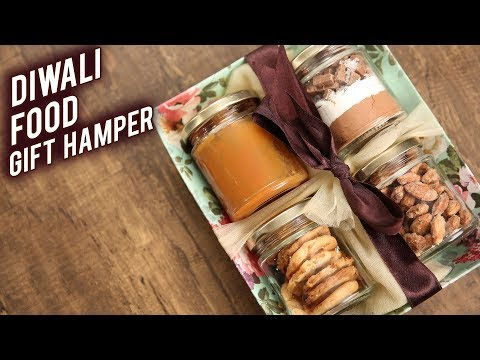 How To Make DIWALI FOOD GIFT HAMPER | DIY Gift Hamper | Festive Hamper By Bhumika