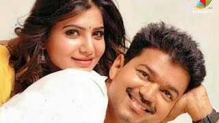 Samantha Is The Wife of Vijay in Atlee Movie Kollywood News 24/11/2015 Tamil Cinema Online