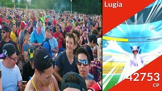 MY FIRST EVER LUGIA RAID IN POKEMON GO! LEGENDARY RAIDS ARE LIVE IN POKEMON GO! GO GET YOUR LUGIA ...