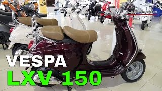 7. Vespa LXV 150 Walkaround | Galeri Kereta
