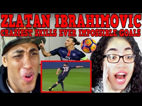 Zlatan Ibrahimovic ● Craziest Skills Ever ● Impossible Goals REACTION | MY DAD REACTS