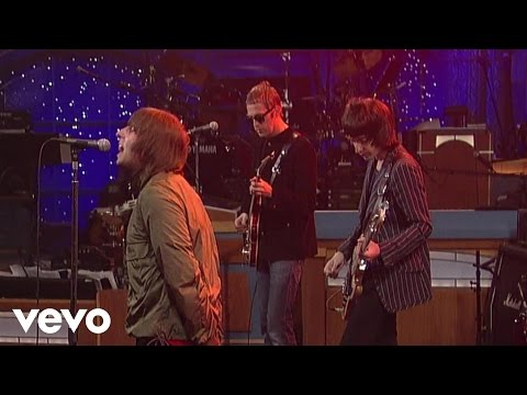 Beady Eye - The Roller (Live on Letterman)