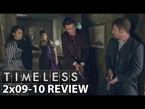 Timeless Season 2 Episode 9 'The General' & Episode 10 'Chinatown' Finale Review