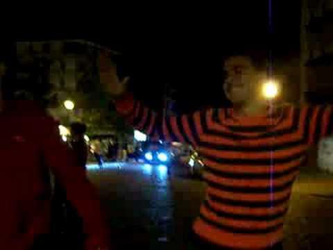 Bailando en el rincon cubano! (видео)