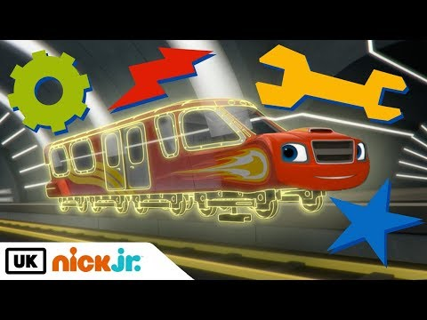 Blaze and the Monster Machines | Best Transformations | Nick Jr. UK