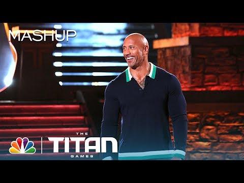 You're Welcome: Dwayne Johnson on The Titan Games, Rock Babies & More - Titan Games 2019 (Mashup)