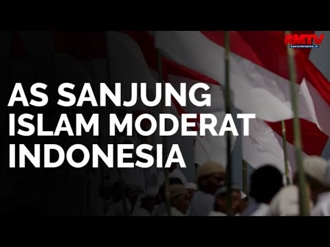 AS Sanjung Islam Moderat Indonesia