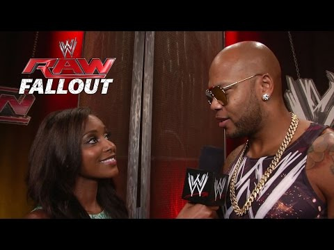 raw - Musical artist Flo Rida talks about his performance on Raw in Miami.