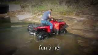 7. CANAM Outlander 800R XT in action