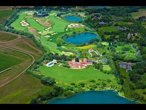 Magnificent $60 Million 60 Acre Estate with an 18 Hole Golf Course in New York USA