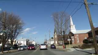 Woodstock (VA) United States  City new picture : Driving Scenic Route 11 in Shenandoah Valley Virginia