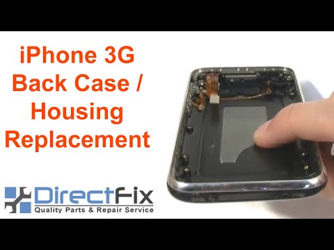 directfix - http://www.DirectFix.com iPhone 3G Back Case / Housing Replacement Directions. These iphone replacement parts are available at directfix.com. These are step ...