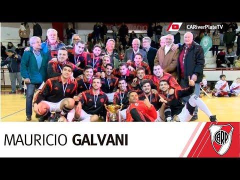 Mauricio Galvani, el DT de hockey sobre patines
