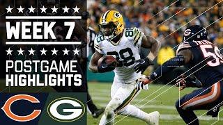 Bears vs. Packers (Week 7)   Game Highlights   NFL by NFL