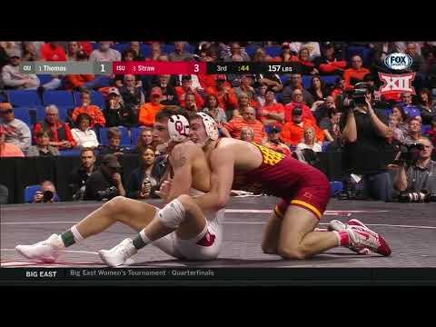 2019 Big 12 Wrestling Championship Highlights