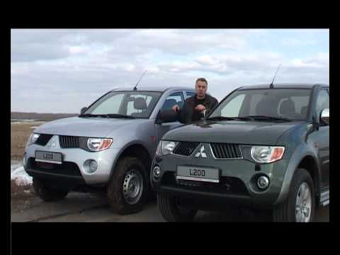 Mitsubishi L200 pick-up — полный тест. ЧАСТЬ 1.