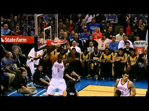 Video: Russell Westbrook's Tasty No-Look Dish to Ibaka