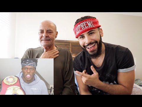 MY DAD REACTS TO KSI TALKING CRAP ABOUT ME!!! (видео)