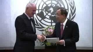 UN Secretary-General Receives Final Report On Syrian Chemical Weapons Use