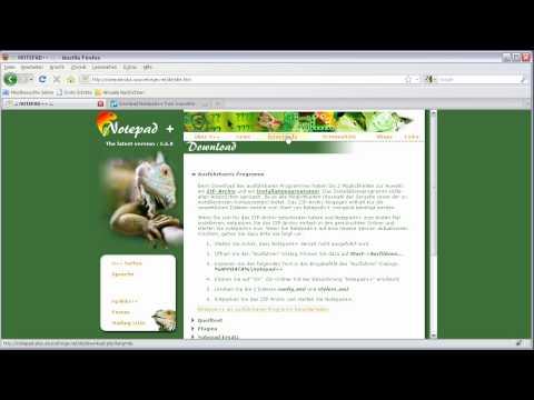 Homepage erstellen Teil 1