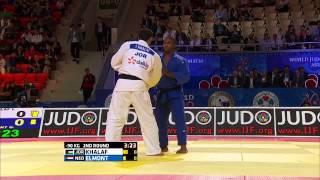 Guillaume Elmont (Netherlands) vs Ibrahim Khalaf (Jordan) World Judo Championships 2015 - AstanaJudo - 90kg