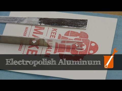 How to electropolish aluminum