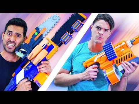 NERF Build Your Weapon!  [Ep 2] (видео)
