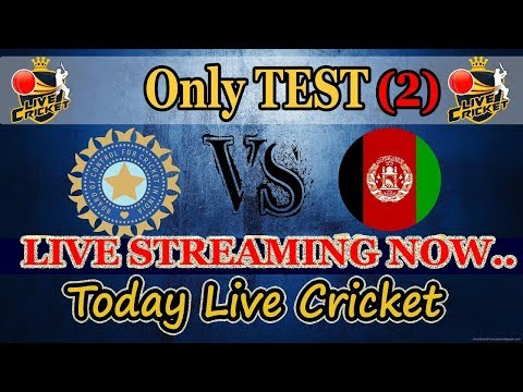 Live : IND vs AFG, Only Test, Day 2 || Live Score And Commentary || Afghanistan tour of India, 2018