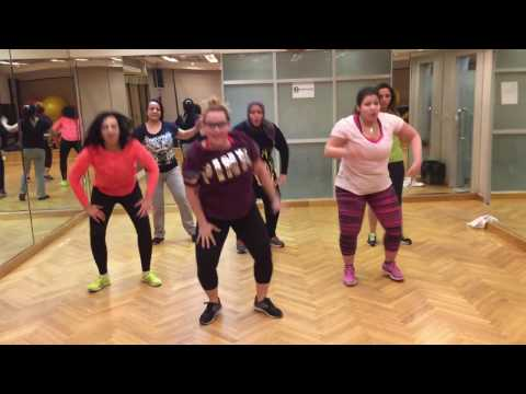 "Zumba Class "" I Wanna Dance With Somebody"" By Fatman Scoop"