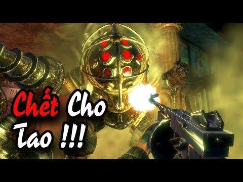 """BioShock Remastered #2: ĐẠI CHIẾN """"QUÁI VẬT"""" BIG DADDY !!! - Thời lượng: 1:21:52."""