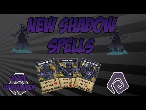 Wizard101: Casting the New Shadow School Spells!