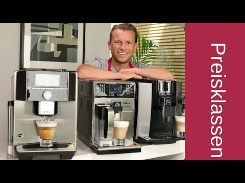 Kaffeevollautomaten nach Preisklassen | Was muss ich ausgeben?