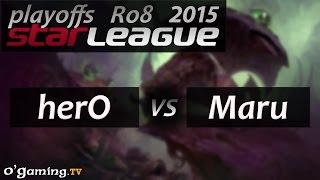 SSL - Saison 2 - Ro8 - Match 1 - Hero vs Maru