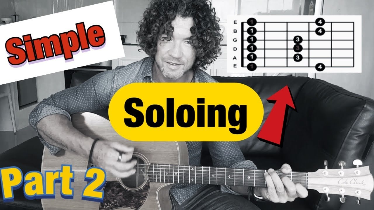 Turn  Simple Guitar Scales Into Sexy Soloing