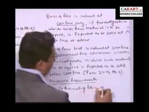 IPCC Accounts video classes by CA Parveen Sharma on AS 2 (part 5)