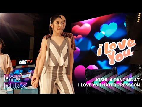 Joshua Garcia & Julia Barretto sweet na sumayaw sa I Love You Hater Grand Press Con | JoshLia