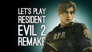Resident Evil 2 Remake Gameplay: Let's Play Resident Evil 2 Remake on Xbox One - BABY LEON NOO