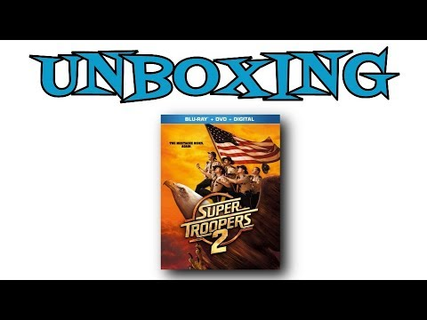 Super Troopers 2 Blu-Ray Unboxing
