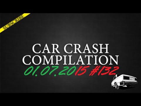 Car crash compilation #132 | Подборка аварий 01.07.2015