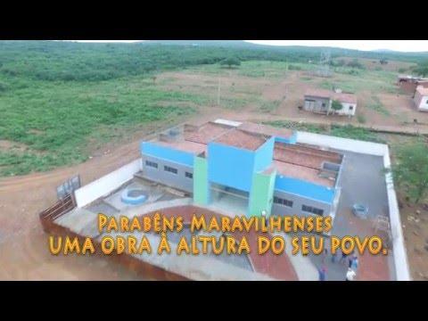 TV CUSTÓDIA:Em breve o Distrito de Maravilha receberá das mãos do Prefeito Luiz Carlos sua nova UBSF