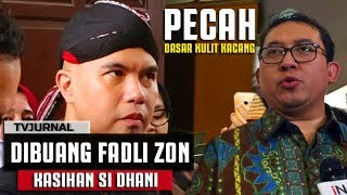 Video DILUPAIN ! Fadli Zon lebih Milih Rapat daripada jadi Saksi Ahli Dhani - Dasar Kacang MP3, 3GP, MP4, WEBM, AVI, FLV November 2018