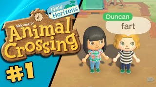 ANIMAL CROSSING: NEW HORIZONS | Professional Streamers #1