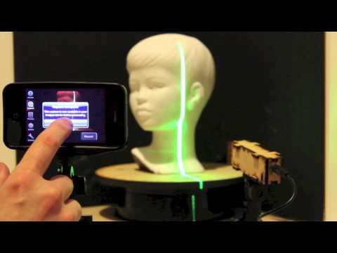 3d laser scanner phone app rapidmade. Black Bedroom Furniture Sets. Home Design Ideas