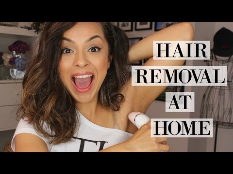 How To Remove Body Hair At Home - Philips Epilator First Impression - TrinaDuhra