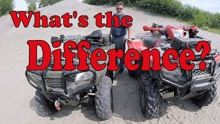 10. 178. Honda Foreman 500 VS Honda Rubicon 500 - What's Different - Broknex