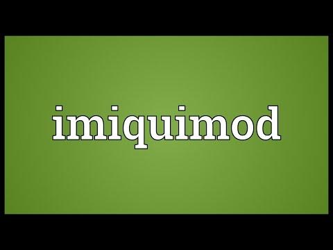 Imiquimod Meaning